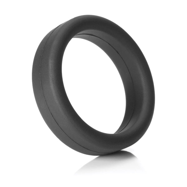Tantus SuperSoft Erection Ring - Black - MedAmour