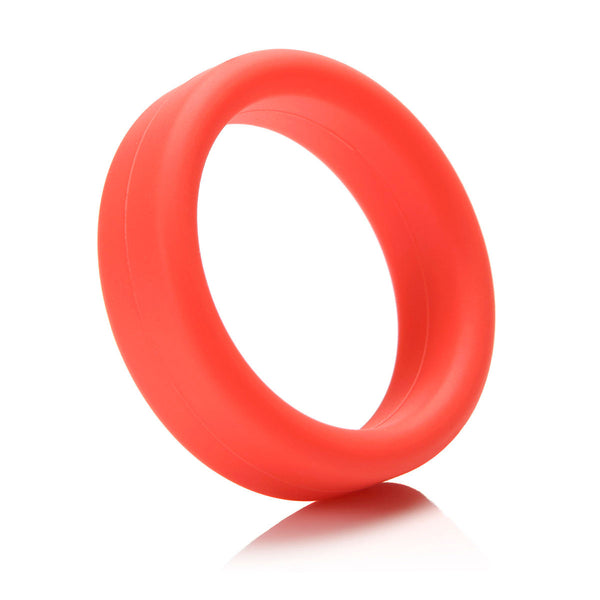Tantus SuperSoft Erection Ring - Red - MedAmour