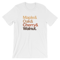Maple & Oak & Cherry & Walnut