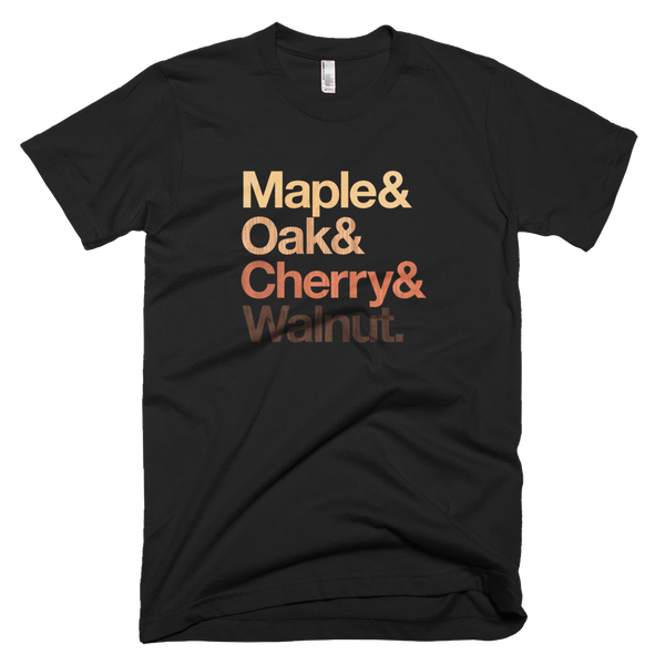 Maple & Oak & Cherry & Walnut, Made in the USA