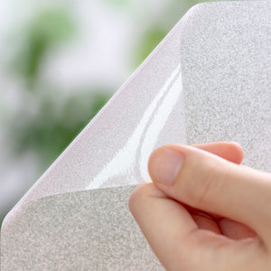 No Glue Self-Adhesive Static Frosted Window Films
