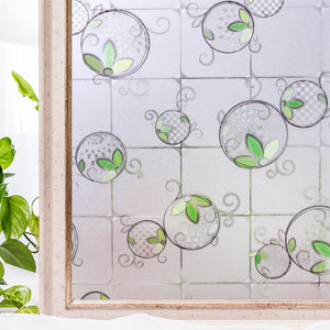 CottonColors 3D Decorate Privacy Window Stickers Anti UV Static Cling 90*200CM - Cottoncolors Home Decoration window film privacy film window sticker