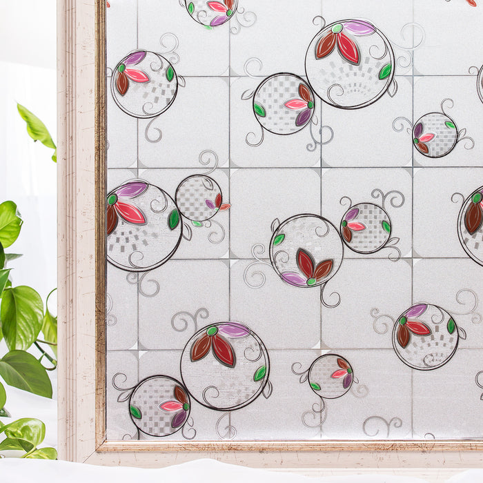 Decorate Window Stickers Static Cling 90*200CM
