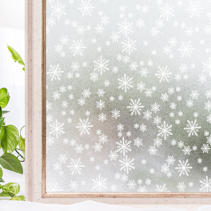 Window Frosting Stickers Static Cling BLKM046 (90*200CM)