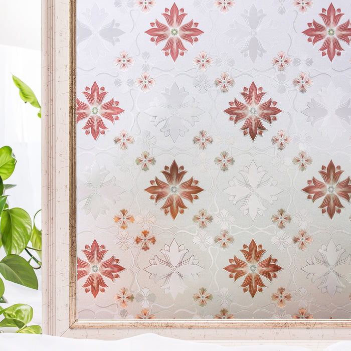 Decorate Window Stickers Static Cling BLKM047-BR (90*200CM)