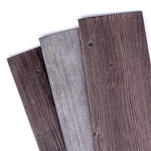 "CottonColors Reclaimed Barn Wood Wall Panels  12 Sq Ft, 5"" Wide"
