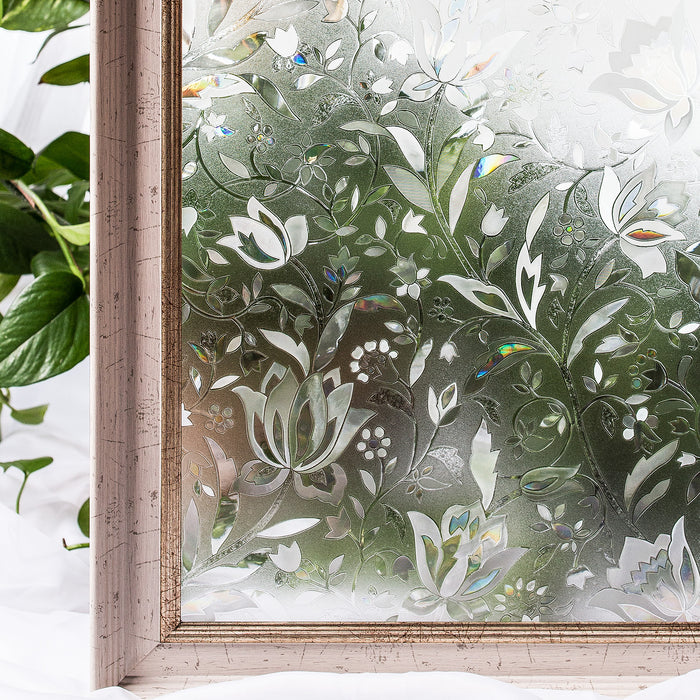 Decorate Window Film Static Cling BLKM008