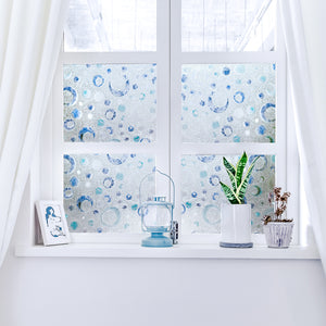 Cottoncolors Brand Window Film Privacy Decoration Self Adhesive for UV Blocking Heat Control Glass Stickers,35.4x78.7 Inches