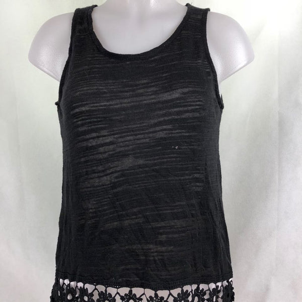 caab303e66f51f Miss Chievous Black Sleeveless Top with lace – Modny Shoppe