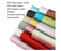 25pcs Faux Leather Sheets, 6 Styles Leather Bows Fabric Sheets