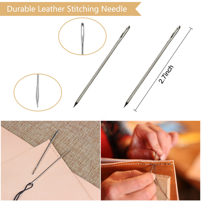 20 Pieces Leather Craft Tools, DIY Sewing.