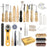 25 PCS Leather Sewing Tools Kit Leather DIY Hand Stitching Tools.
