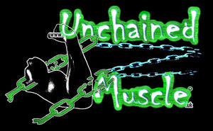 Unchained Muscle Logo