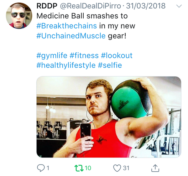 Unchained Muscle Twitter