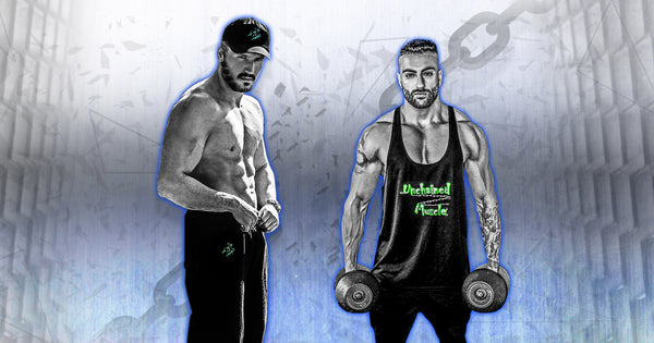 Unchained Muscle Men's Gym Clothing