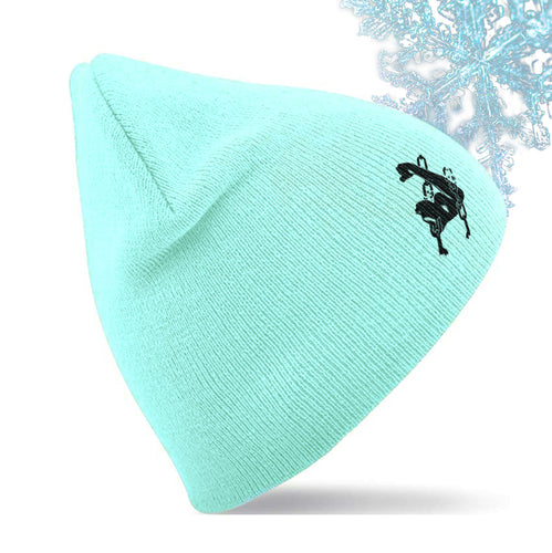 Unchained Muscle Frosted Mint Unisex Beanie