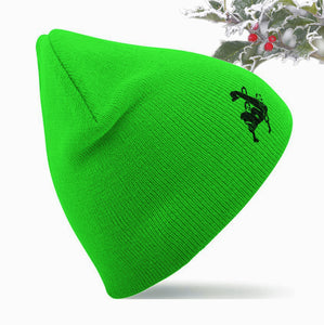 Unchained Muscle Holly Green Unisex Beanie