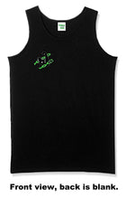 Unchained Muscle Unisex Black Logo Vest - Unchained Muscle