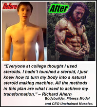 My Transformation Using Anabolics Unchained.