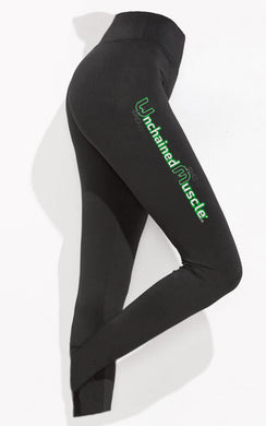 Unchained Muscle Classic Women's Black Leggings - Unchained Muscle
