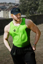 Unchained Muscle Unisex Electric Green Performance Vest - Unchained Muscle