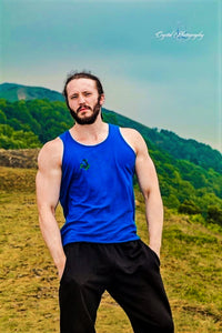 Unchained Muscle Unisex Royal Blue Vest - Unchained Muscle