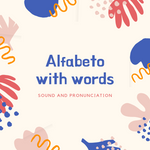 Alfabeto with words - ItalianSi