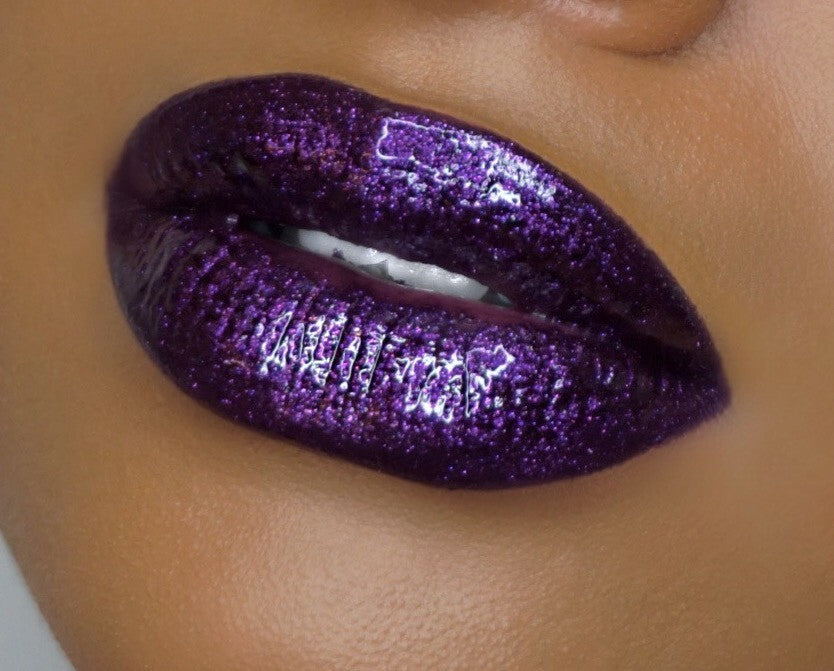 S+M Sultry and Matte, GO OFF! (Metallic Lipgloss)