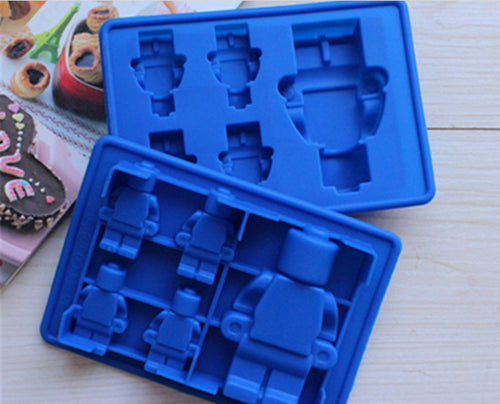 Lego DIY Mold -Large and Petite Lego Figures