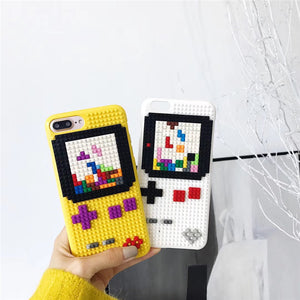MiniBlock DIY Game Boy Tetris iPhone Case