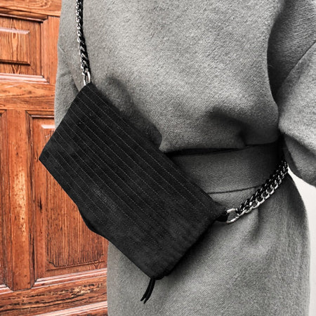ND folded bag suede #3 - Crossbody & shoulder bag