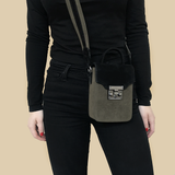 Noir Desire, Danish Design Bag ND Antony Black/Olive #5 - Crossbody bag