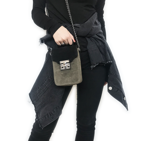 Noir Desire, Danish Design Bags ND Antony festival - black/olive #1 crossbody