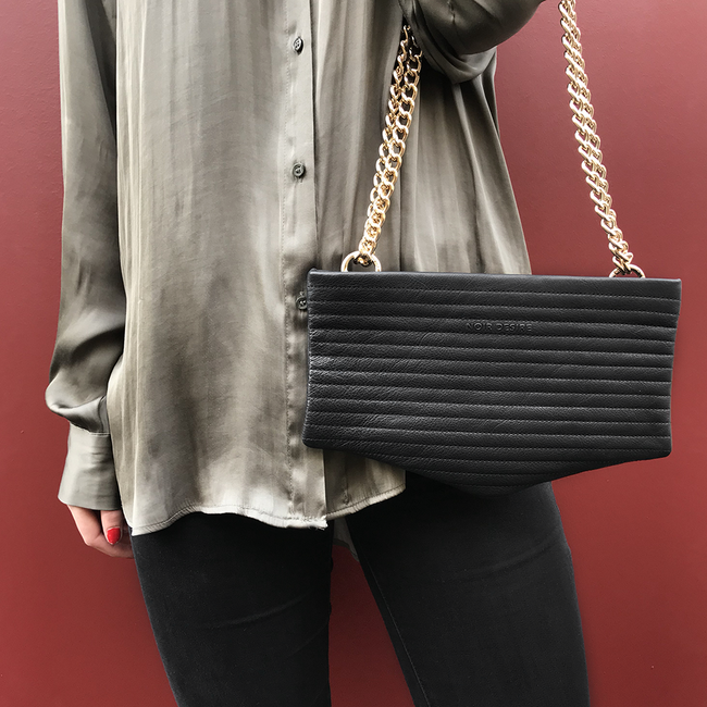 Noir Desire, Danish Design Bags ND bag #1 clutch, crossbody, shoulderbag