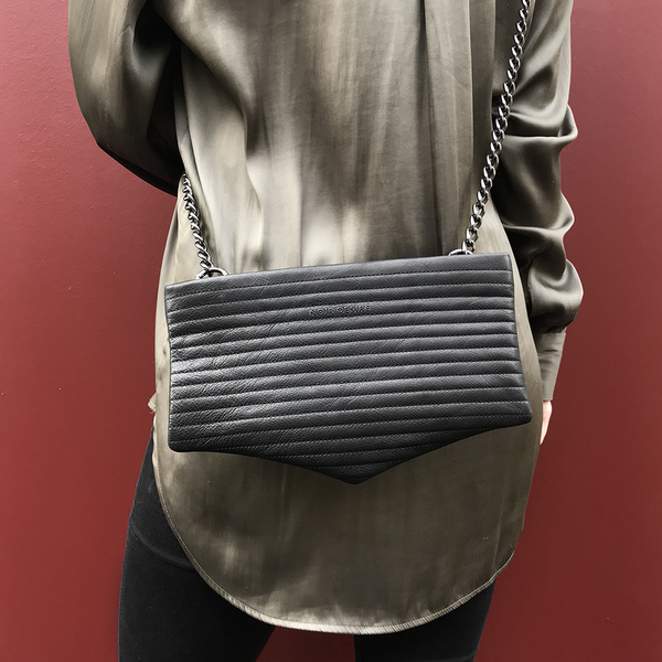 Noir Desire, Danish Design bags ND bag #2 clutch, crossbody, shoulderbag