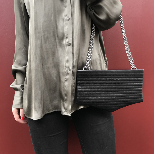 Noir Desire, Danish Design Bags ND bag #3 clutch, crossbody, shoulderbag