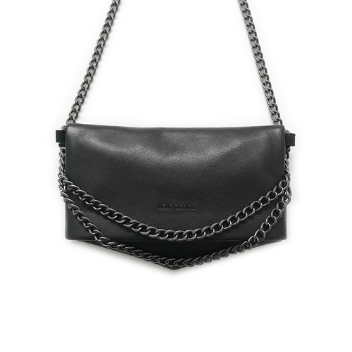 Noir Desire, Danish Design Bags ND folded bag #4 - Clutch, crossbody, shoulderbag