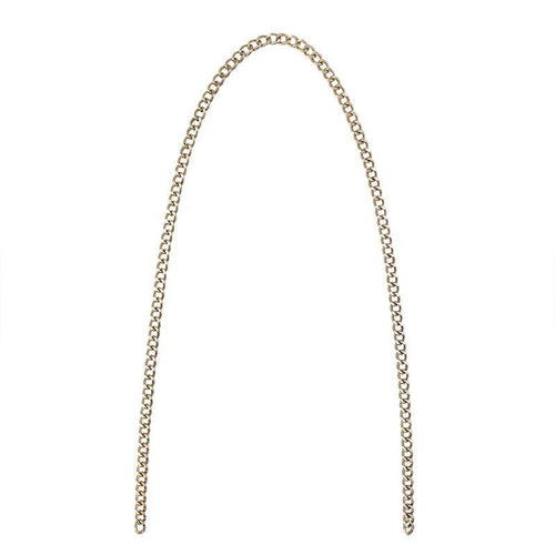 Noir Desire, Danish Design Chain 115 cm curb crossbody chain -  gold