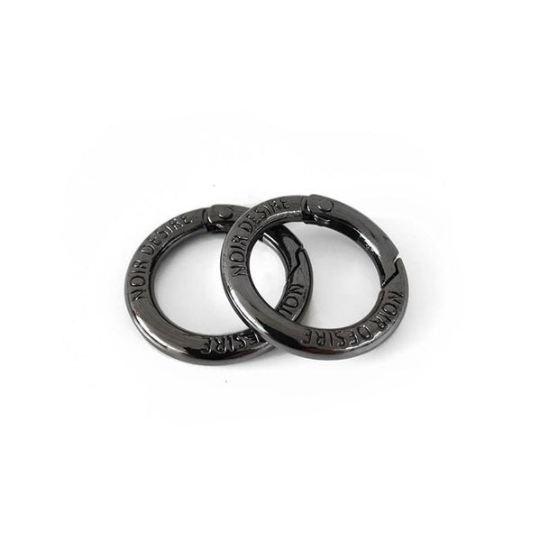 Noir Desire, Danish Design open rings Default Title Open rings 2 pcs. - Hiblack