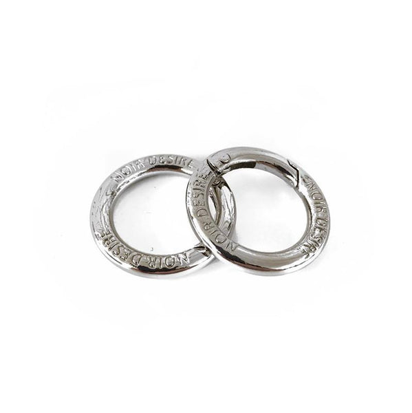 Noir Desire danish design open rings Default Title Open rings 2 pcs. - Silver