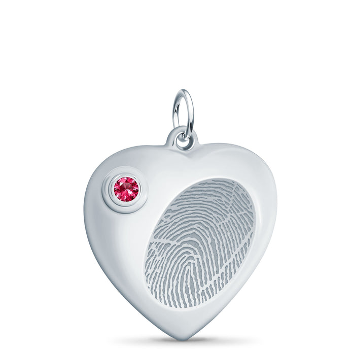 Heart Cremation Urn Pendant - Legacy Touch -- Dev
