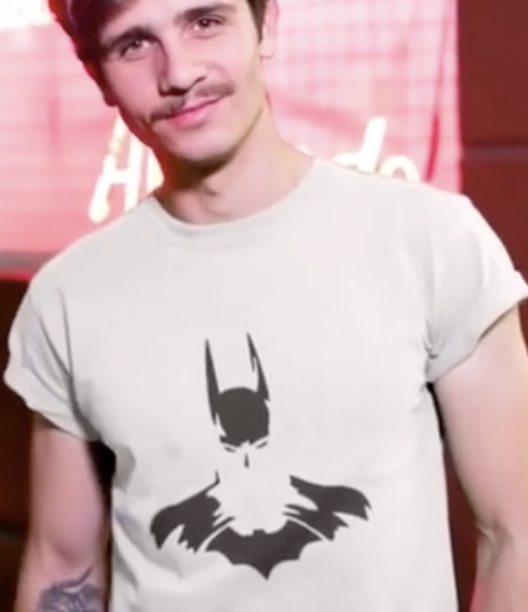 Batman tee t-shirt minimal