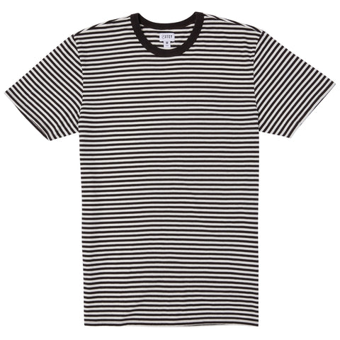 MINI STRIPE TEE - BLACK/WHITE