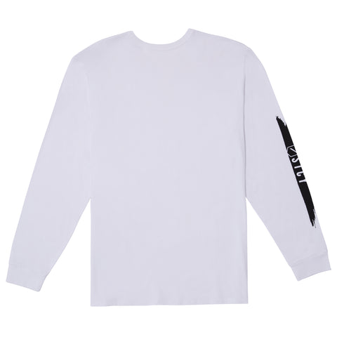 SLASH 2 L/S TEE - WHITE