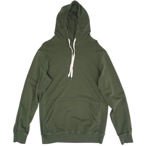 COVER UP HOODED FLEECE - ARMY