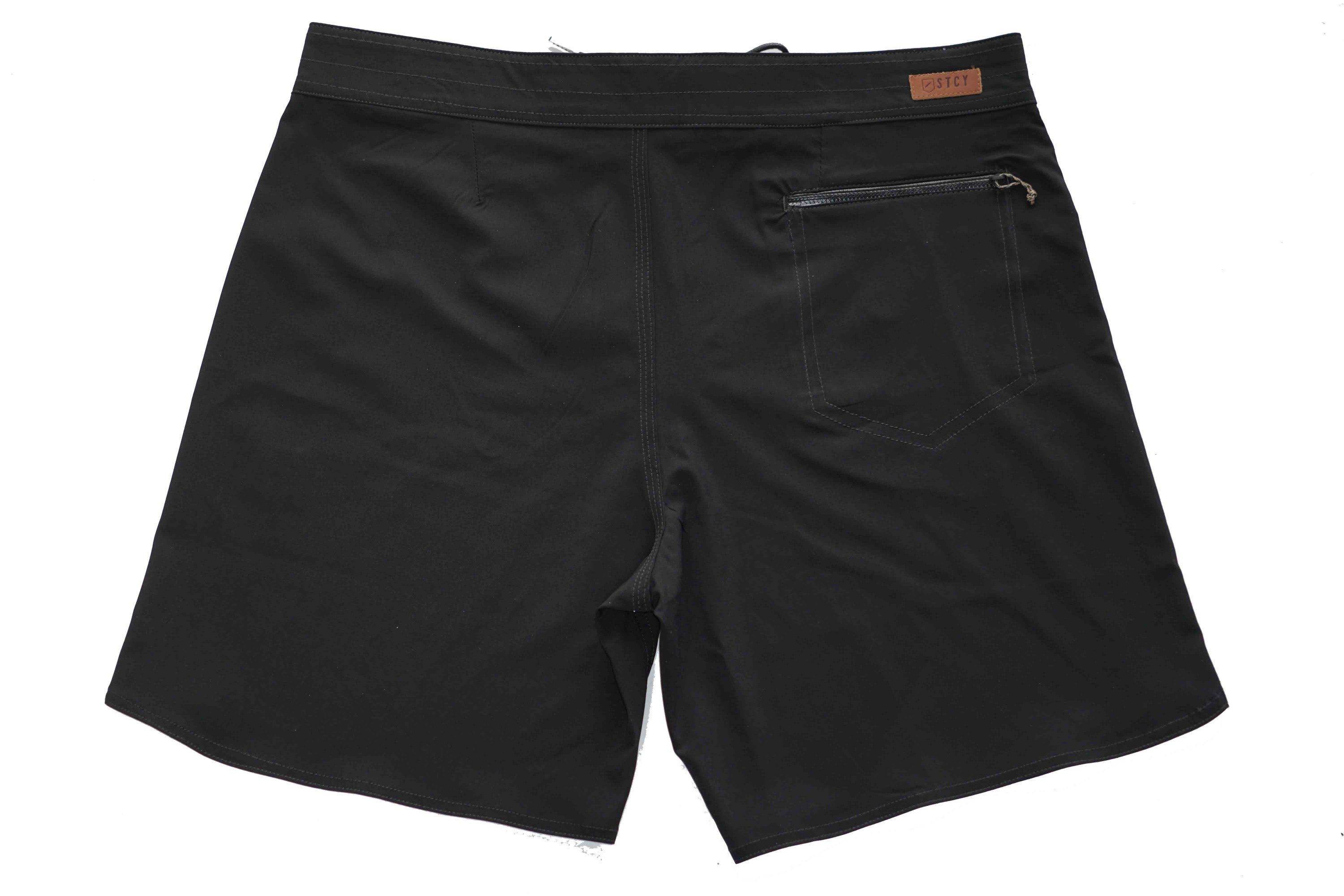 "FOUNDATION BOARDSHORT 19"" - BLACK"