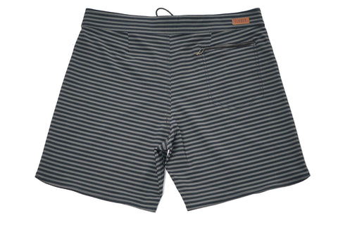 "FOUNDATION MINI FEEDER 19"" BOARDSHORT - BLACK/ARMY"