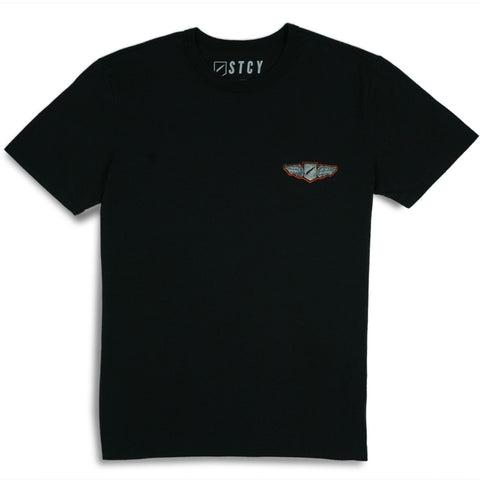 WINGER TEE - BLACK
