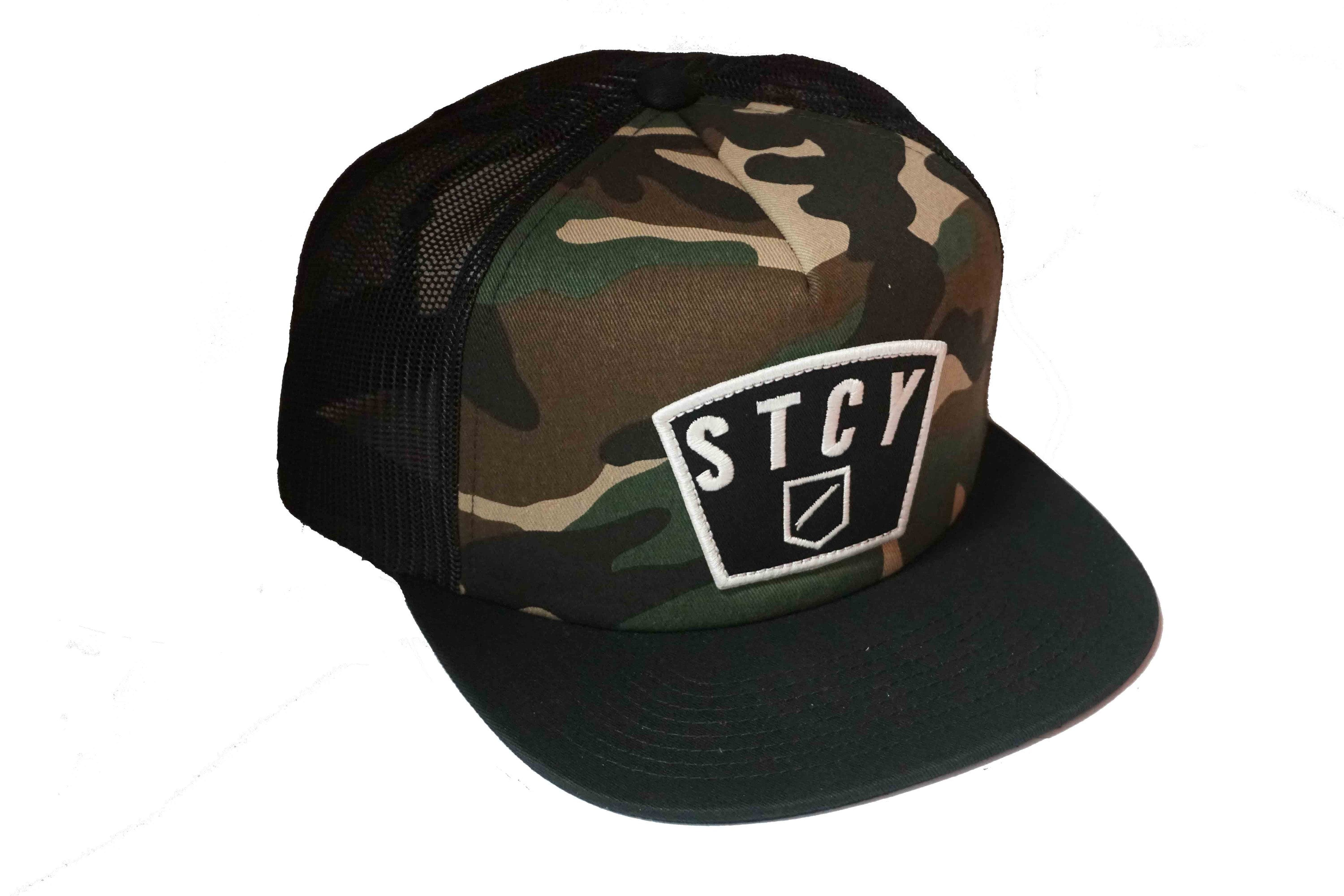 BIG PATCH TRUCKER - CAMO