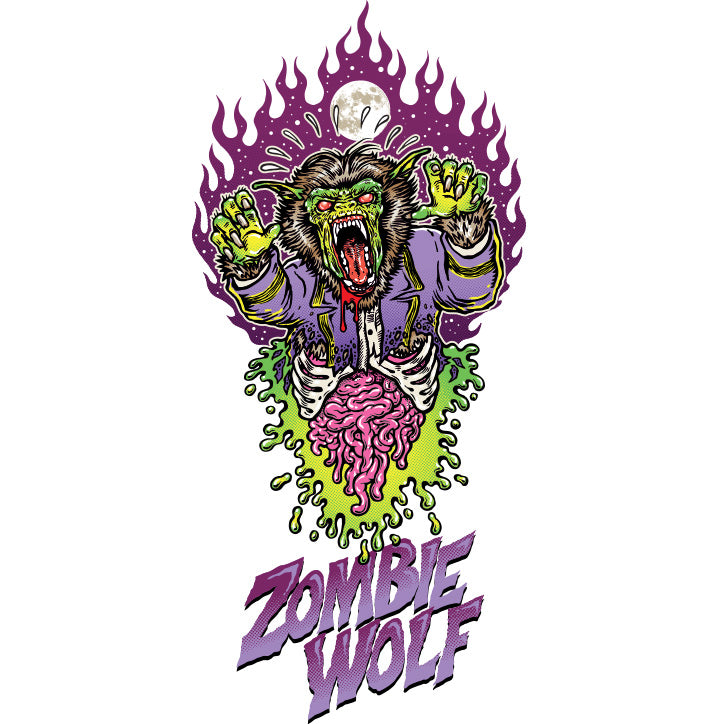 Stacey Surfboards - Zombie Wolf